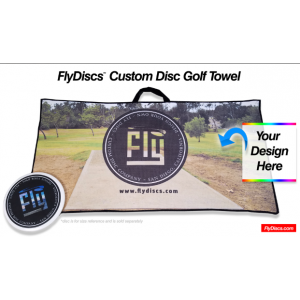 Custom Disc Golf Towel